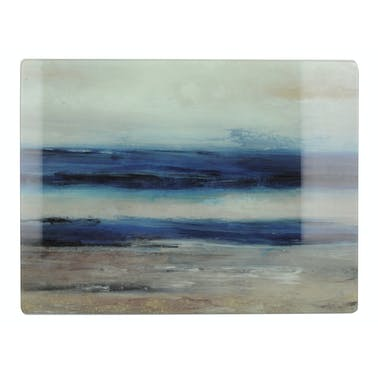 Creative Tops Blue Abstract Work Surface Protector