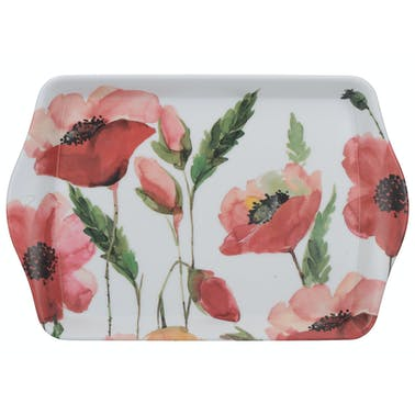 Creative Tops Watercolour Poppy Scatter Tray