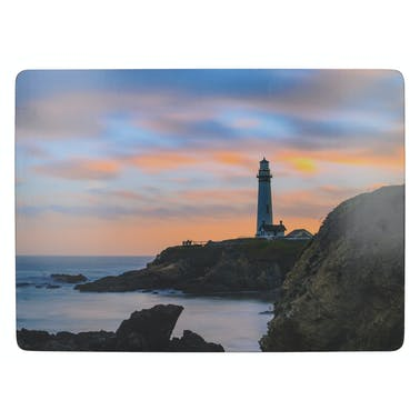 Creative Tops Photographic Lighthouse Pack Of 4 Large Premium Placemats