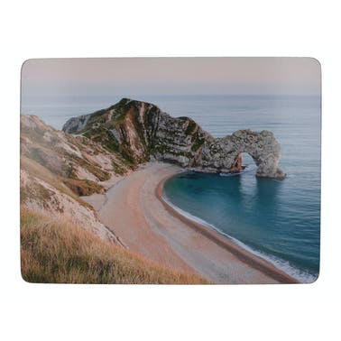 Creative Tops Durdle Door Pack Of 6 Premium Placemats