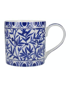 Photo of Victoria And Albert The Cole Collection Floral Geo White Mug