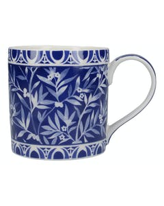 Photo of Victoria And Albert The Cole Collection Floral Geo Navy Mug