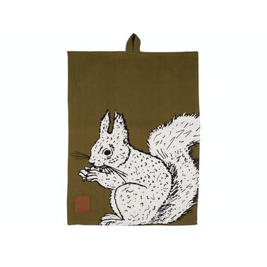 Creative Tops Into The Wild Squirrel Tea Towel
