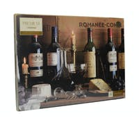 Creative Tops Vintage Wine Pack Of 4 Large Premium Placemats