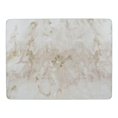 Creative Tops Grey Marble Pack Of 6 Premium Placemats