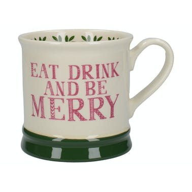 Creative Tops Stir It Up Celebrate Eat Drink And Be Merry Tankard Mug