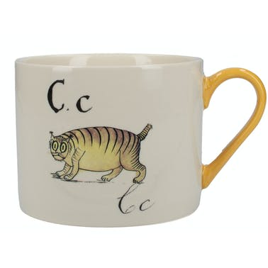Victoria And Albert Nonsense Alphabet Squat Can Mug C