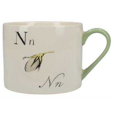 Victoria And Albert Nonsense Alphabet Squat Can Mug N