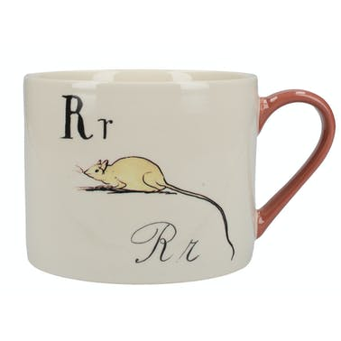 Victoria And Albert Nonsense Alphabet Squat Can Mug R