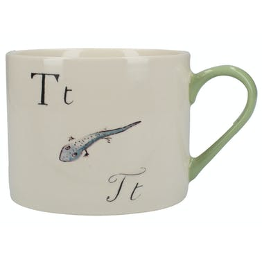 Victoria And Albert Nonsense Alphabet Squat Can Mug T