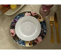 Katie Alice Wild Apricity Lace Grey Side Plate