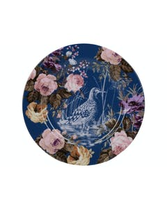 Photo of Katie Alice Wild Apricity Navy Birds Side Plate