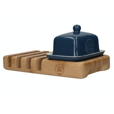 Kew Gardens Richmond Half Butter Dish Toast Rack
