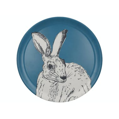 Creative Tops Into The Wild Hare Round Tray Matte