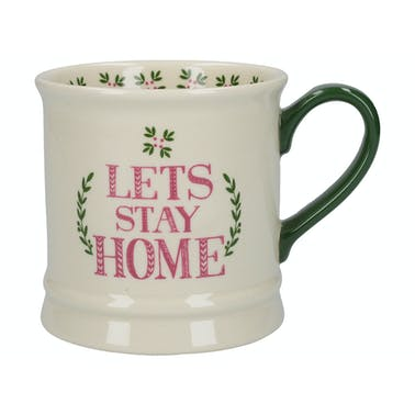 Creative Tops Stir It Up Celebrate Lets Stay Home Tankard Mug