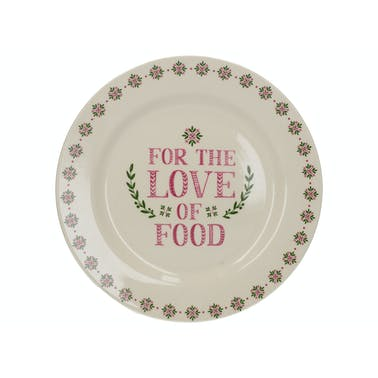 Creative Tops Stir It Up Celebrate For The Love Of Food Side Plate