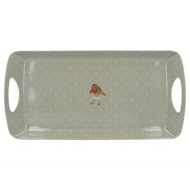 Creative Tops Into The Wild Robin Small Luxury Handled Tray