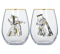 Victoria And Albert Alice In Wonderland Set Of 2 Tumblers