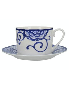 Photo of Victoria And Albert The Cole Collection Bold Floral Cup And Saucer