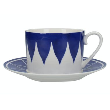 Victoria And Albert The Cole Collection Triangle Geo Cup And Saucer