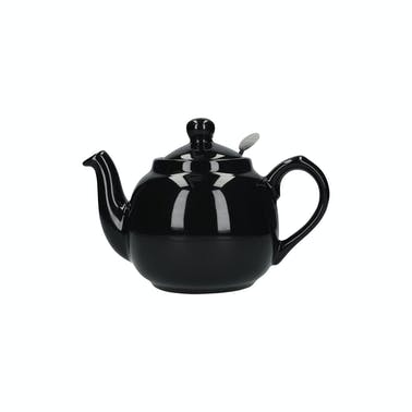 London Pottery Farmhouse® 2 Cup Teapot Gloss Black