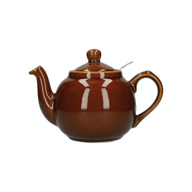London Pottery Farmhouse® 4 Cup Teapot Rockingham Brown