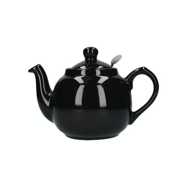 London Pottery Farmhouse® 4 Cup Teapot Gloss Black