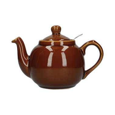 London Pottery Farmhouse® 6 Cup Teapot Rockingham Brown