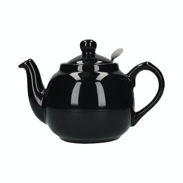 London Pottery Farmhouse® 6 Cup Teapot Gloss Black