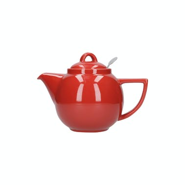 London Pottery Geo® Filter 2 Cup Teapot Red