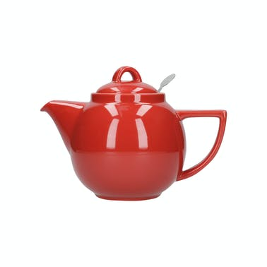 London Pottery Geo® Filter 4 Cup Teapot Red