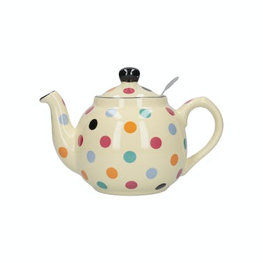 London Pottery Farmhouse® 4 Cup Teapot Multi Spot