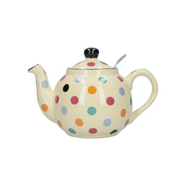 London Pottery Farmhouse® 6 Cup Teapot Multi Spot
