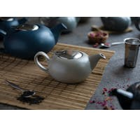London Pottery Pebble® Filter 2 Cup Teapot Light Grey