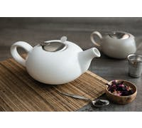 London Pottery Pebble® Filter 4 Cup Teapot Matte White