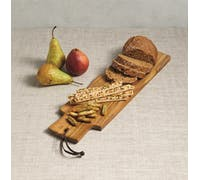 Artesà Appetiser Acacia Wood Serving Plank / Baguette Board