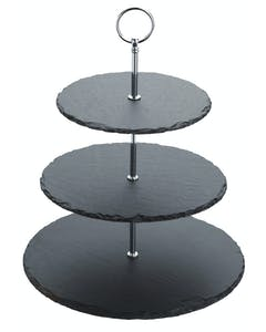 Photo of Artesà Appetiser Slate 3 Tier Serving Stand
