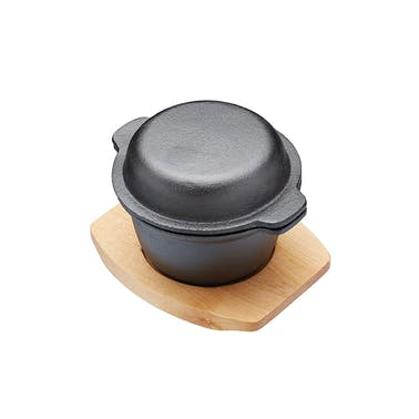 Artesà Mini Covered Cast Iron Cooking & Serving Pot