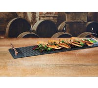 Artesà Etched Slate Long Serving Platter