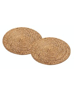 Photo of Artesà Set of 2 Bamboo Rattan Placemats