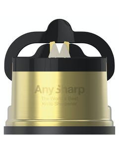 Photo of AnySharp Pro Brass Knife Sharpener