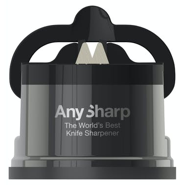 AnySharp Pro Gun Metal Knife Sharpener