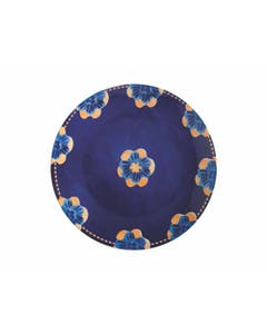 Photo of Maxwell & Williams Majolica 26.5cm Ink Blue Dinner Plate