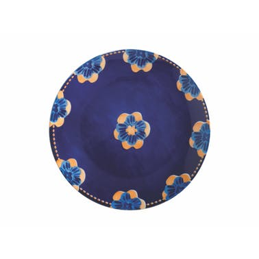 Maxwell & Williams Majolica 26.5cm Ink Blue Dinner Plate