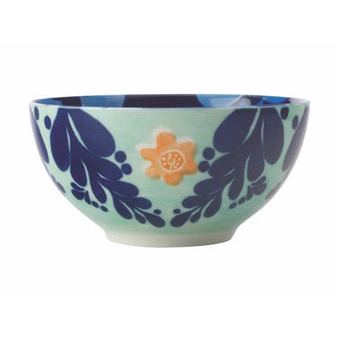 Maxwell & Williams Majolica 12.5cm Ink Blue Bowl