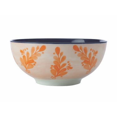 Maxwell & Williams Majolica 16cm Ink Blue Bowl