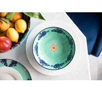 Maxwell & Williams Majolica 20cm Teal Coupe Bowl