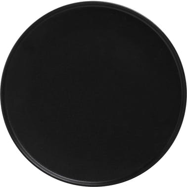 Maxwell & Williams Caviar High Rim 24.5cm Plate Black