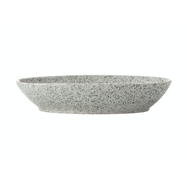 Maxwell & Williams Caviar Speckle 24cm Oval Bowl