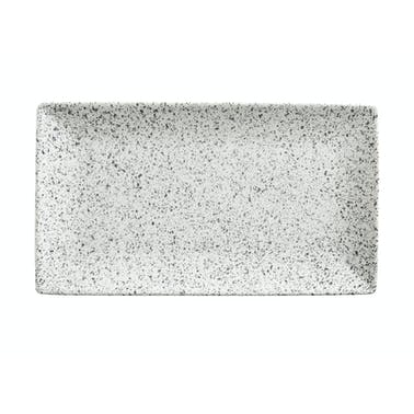 Maxwell & Williams Caviar Speckle 34.5cm Rectangle Platter